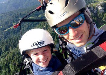 Gleitschirm Tandemflug Adventure Sports bei Muenchen