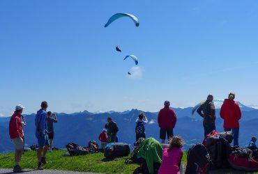 Brauneck, Flug, Flugzustand, Gruppen, Kurse - Reisen, Orte, Start