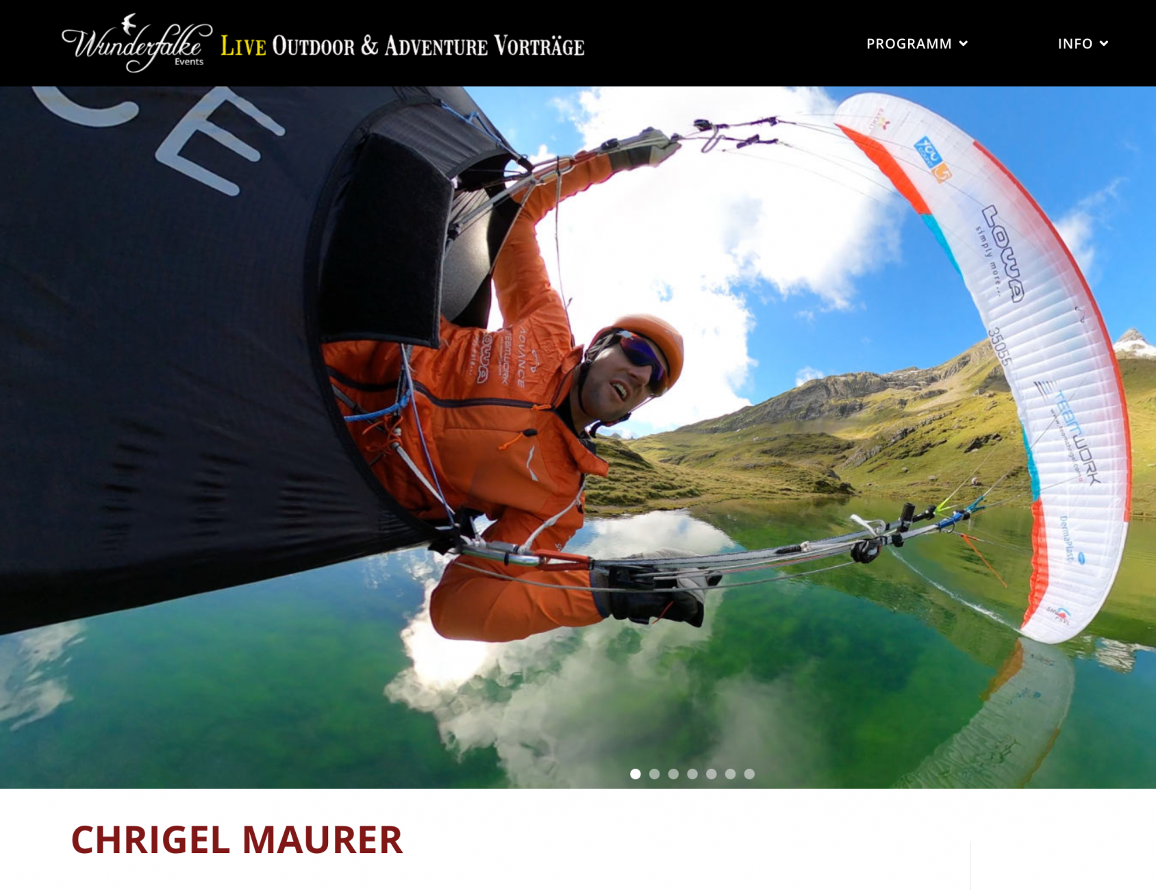 Save the Date! 14.11.2021 Chrigel Maurer in Bad Tölz+ Rahmenprogramm