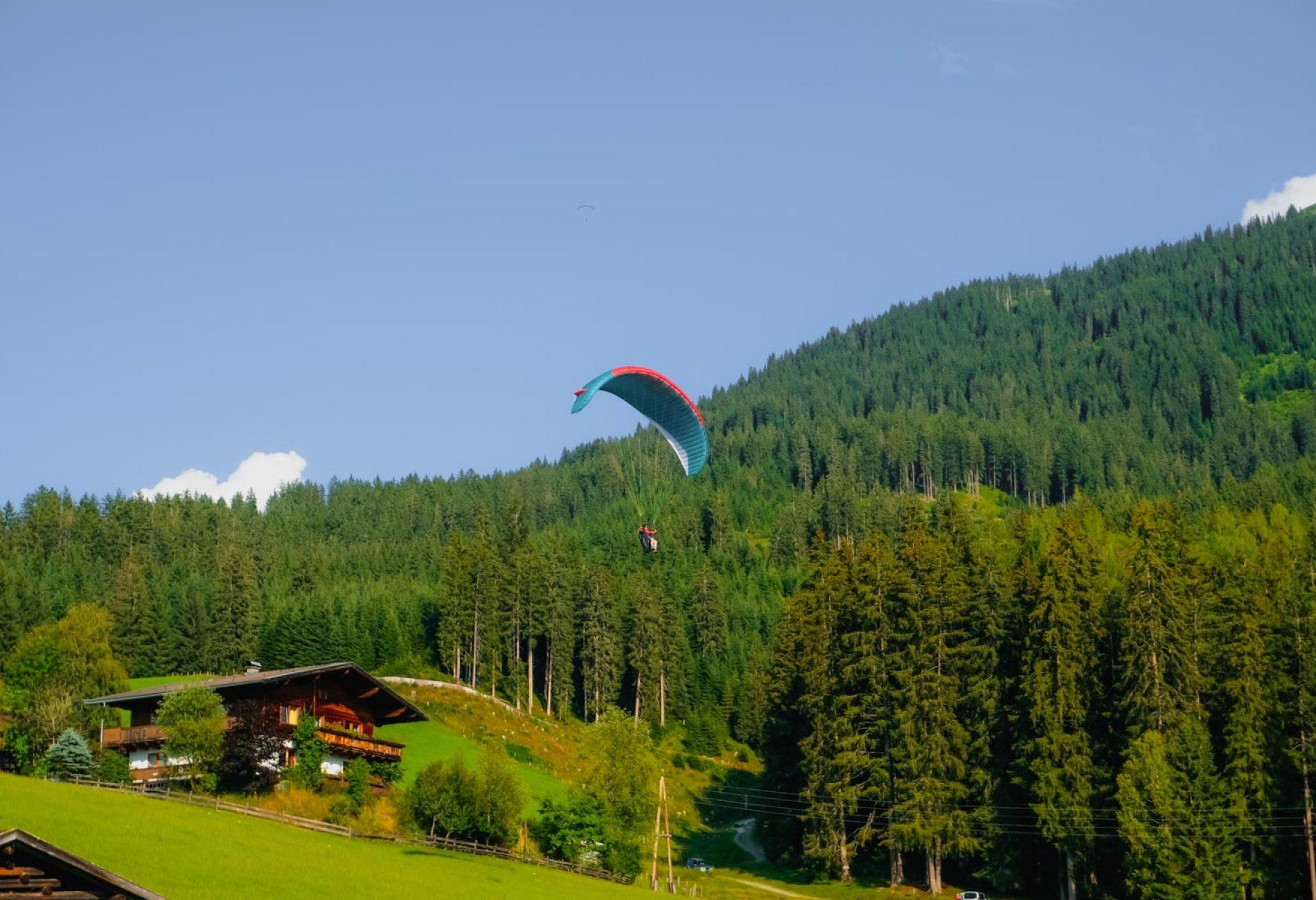 Flugtechnik Training (3) 22.-25.07.2021 mit Adventure Sports