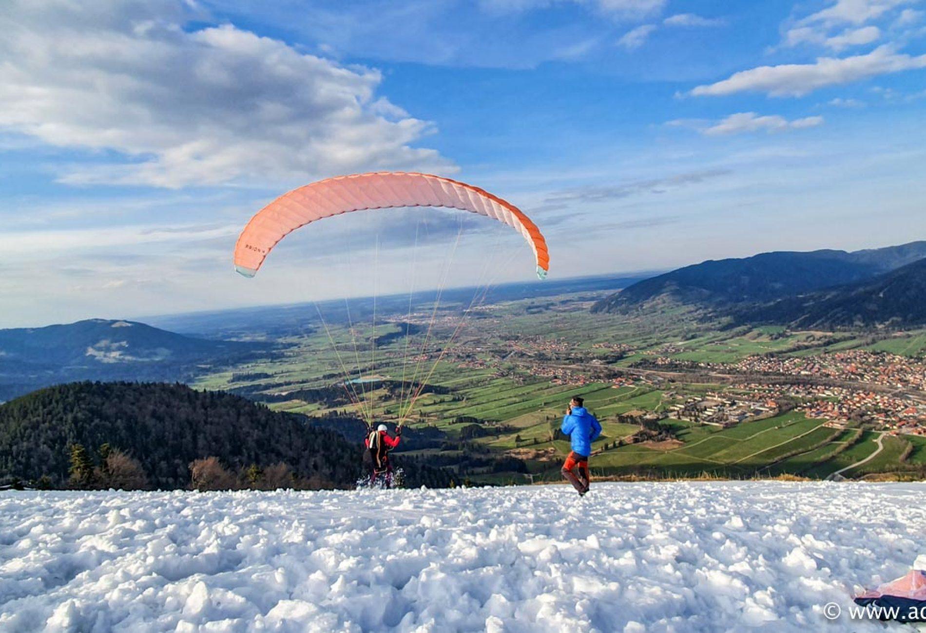 Erste Höhenschulung in 2021 à la Hike & Fly!